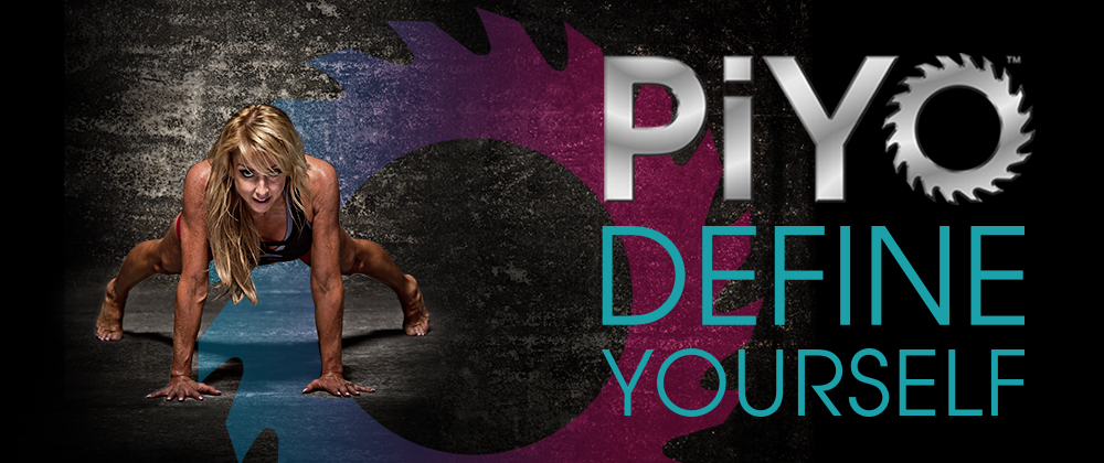 PIYO FITNESS CHALLENGE with Pilates/Yoga Inspired moves