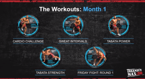 AT-HOME INSANITY MAX 30 CHALLENGE