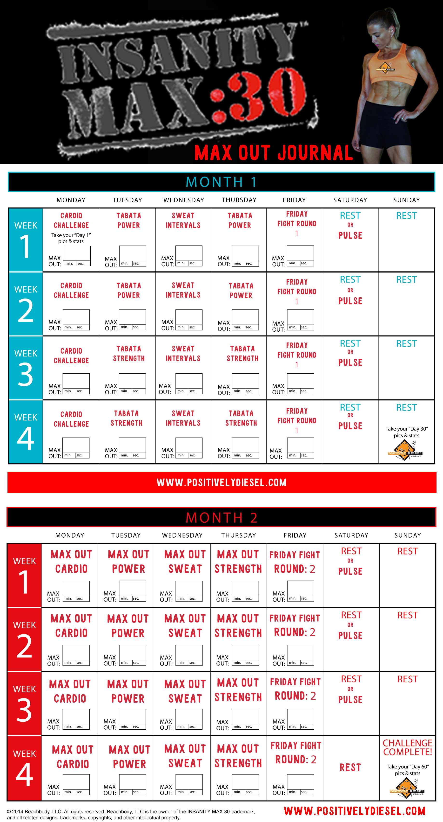 insanity workout 30 max : Workout : Menu0026#39;s Fitness