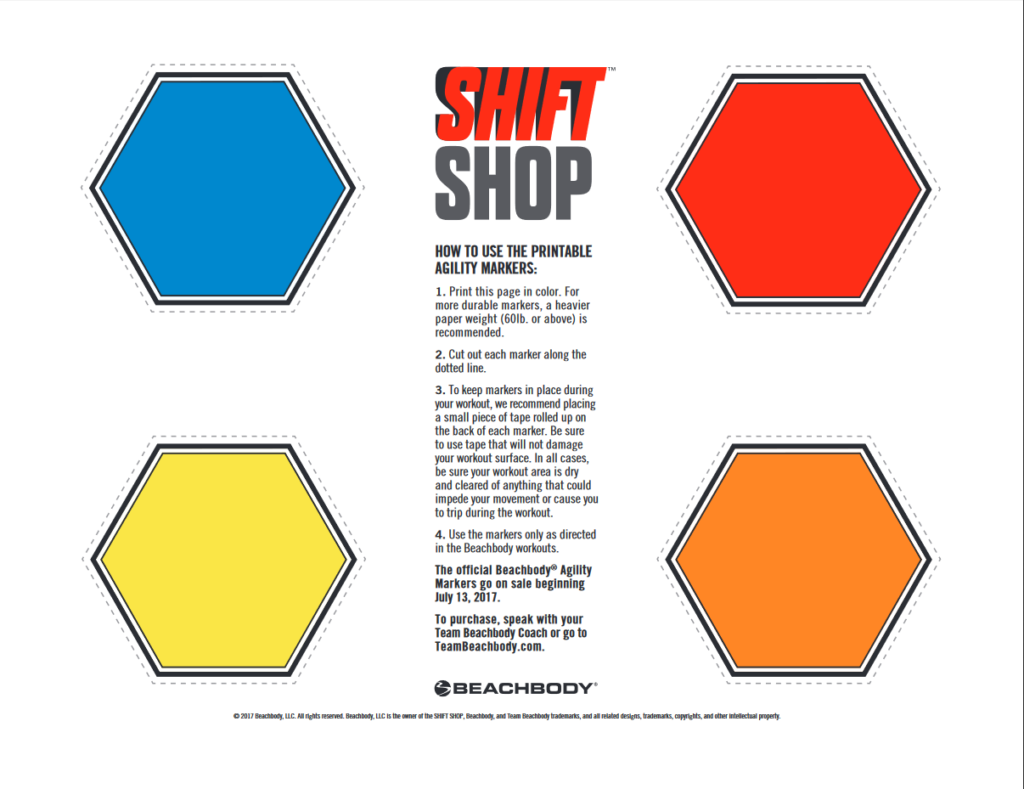 Shift Shop Agility Marker Template Positively Diesel Where Strength Amp Positivity Collide